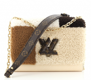 Louis Vuitton Colourblock Teddy Twist MM Bag