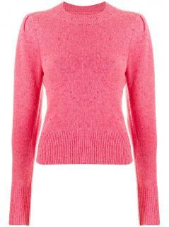 Isabel Marant Pink Colroy Cashmere Jumper