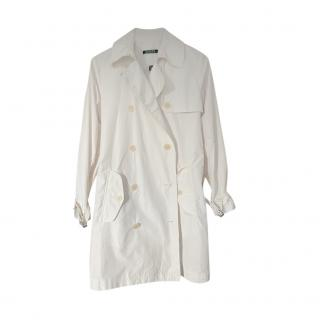 Lauren Ralph Lauren Cream Trench Coat