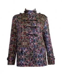 Isabel Marant Aztec Print Padded Jacket