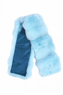 FurbySD Baby Blue Chinchilla Fur Stole/Collar