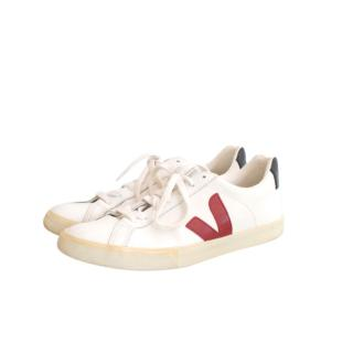 Veja White leather  Low Sneakers