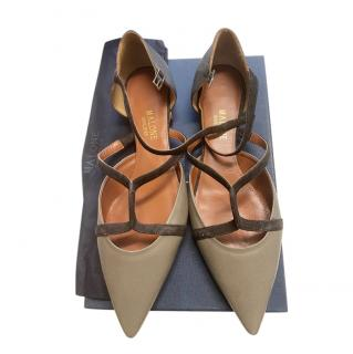 Malone Souliers Strappy Flat Ballerinas