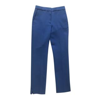 Victoria Victoria Beckham blue wool blend pants