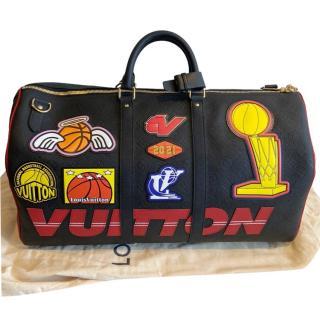 Louis Vuitton x NBA Season 1 Sold Out Black Keepall 50 Bag