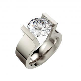Niessing Sterling Silver Span Ring