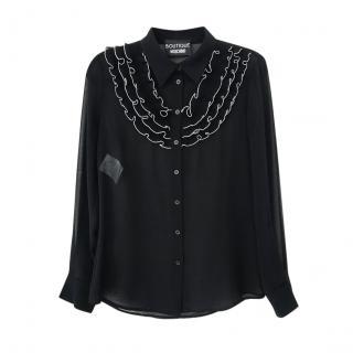 Boutique Moschino Shirt Sheer Shirt