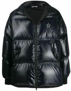 Valentino Star Logo Black Puffer Jacket
