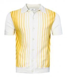 Mr P. White & Yellow Polo Shirt