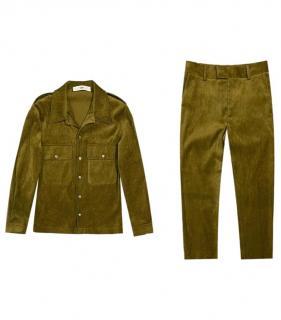 Sefr Green Velvet Jacket & Pants