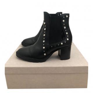 Jimmy Choo embellished burrow heeled sandals