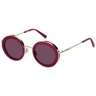 Max Mara Round Plum Eileen Sunglasses