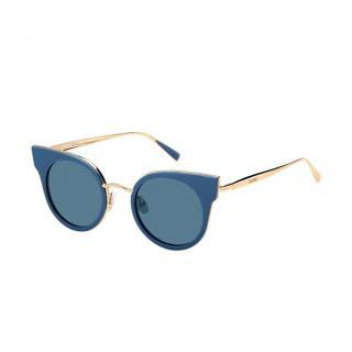 Max Mara Ilde I Blue Cat-Eye Sunglasses