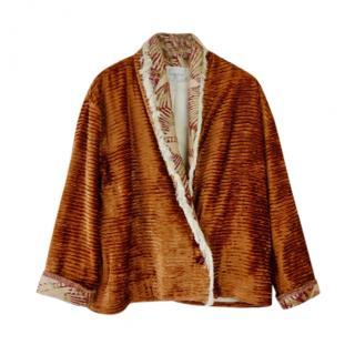 Forte Forte Velvet Contrast Lapel Jacket