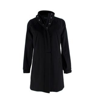 Loro Piana Icery Long Cashmere Black Coat