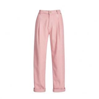 Essentiel Antwerp Pink Organic Cotton Pants