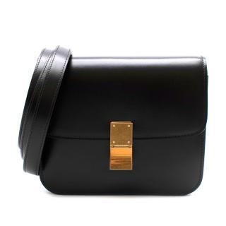 Celine Teen Classic Box Calfskin Black Bag