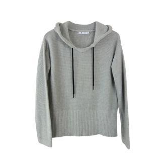 T by Alexander Wang Grey Knit Jumper