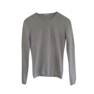 Malo Grey Cashmere Knit Jumper