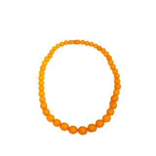Bespoke Vintage Butterscotch Amber Necklace