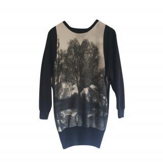 Stella McCartney Tree Print Jumper Dress