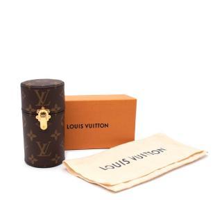 Louis Vuitton Walnut Monogram Canvas 100ml Fragrance Travel Case