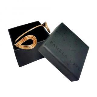 Pamela Love Gold Plated Satern Bracelet