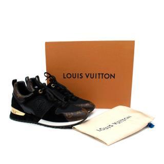 Louis Vuitton Run Away Black & Brown Monogram Trainers