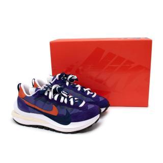 Nike x Sacai Dark Tricolour Iris VaporWaffle Trainers