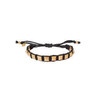 Valentino Garavani Rockstud Cord Bracelet