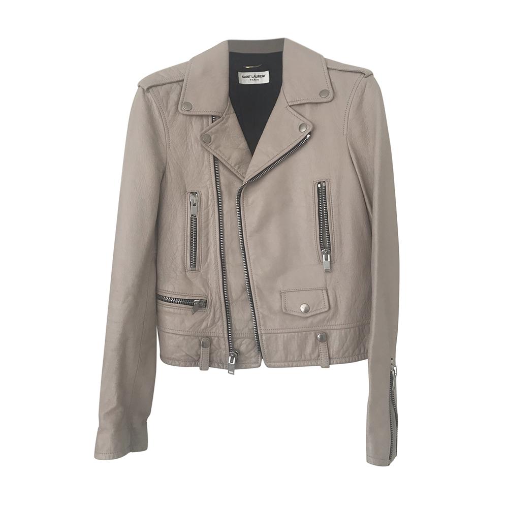 Saint Laurent Lambskin Biker Jacket