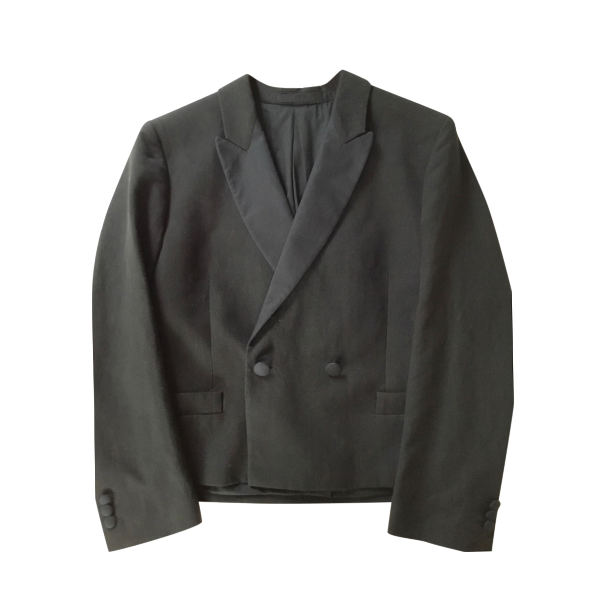 Margaret Howell Black Tailored Double Breasted Jacket.