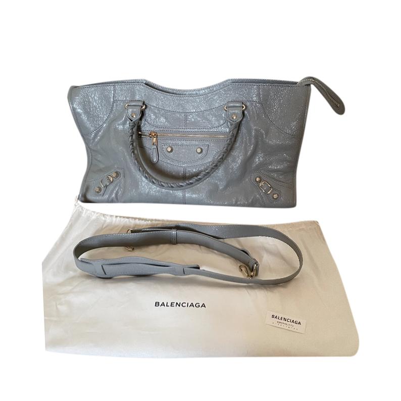 Balenciaga Grey leather City Bag