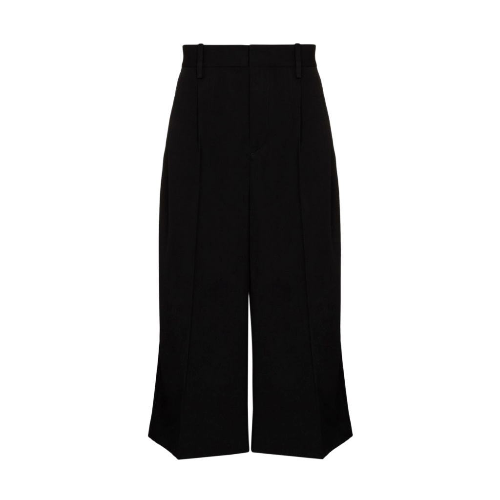 JW Anderson Black Tailored Cropped Trousers
