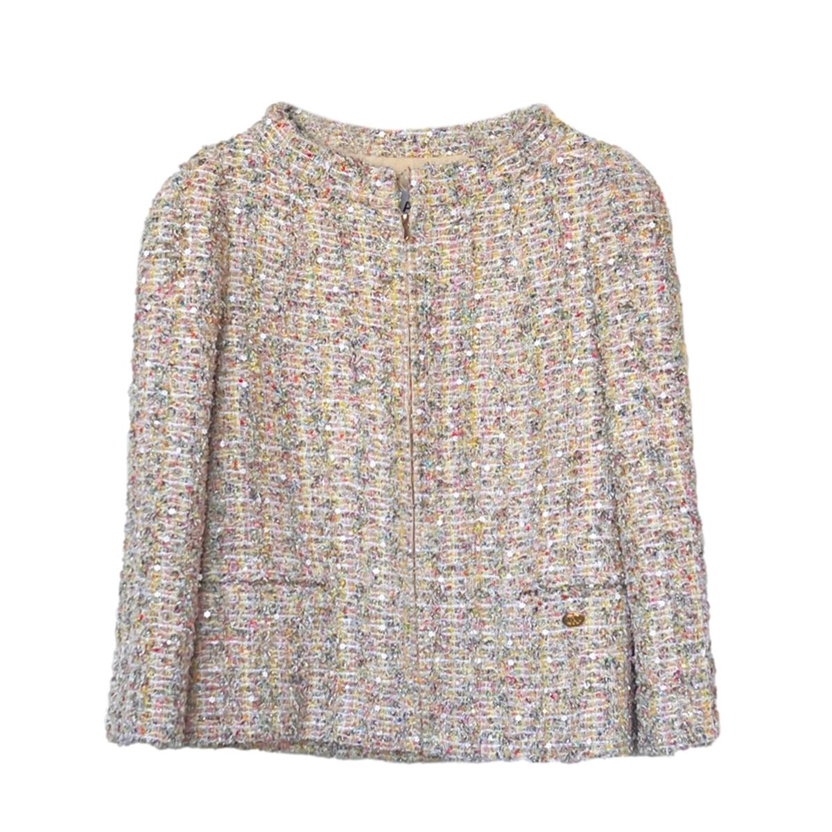 Chanel Embellished Multicoloured Lesage Tweed Jacket
