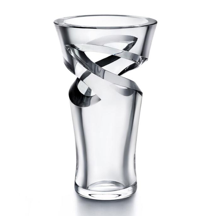 Baccarat Crystal 38cm Tall Tornado Vase