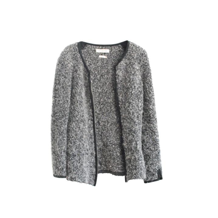 Isabel Marant Grey Wool & Mohair Cardigan