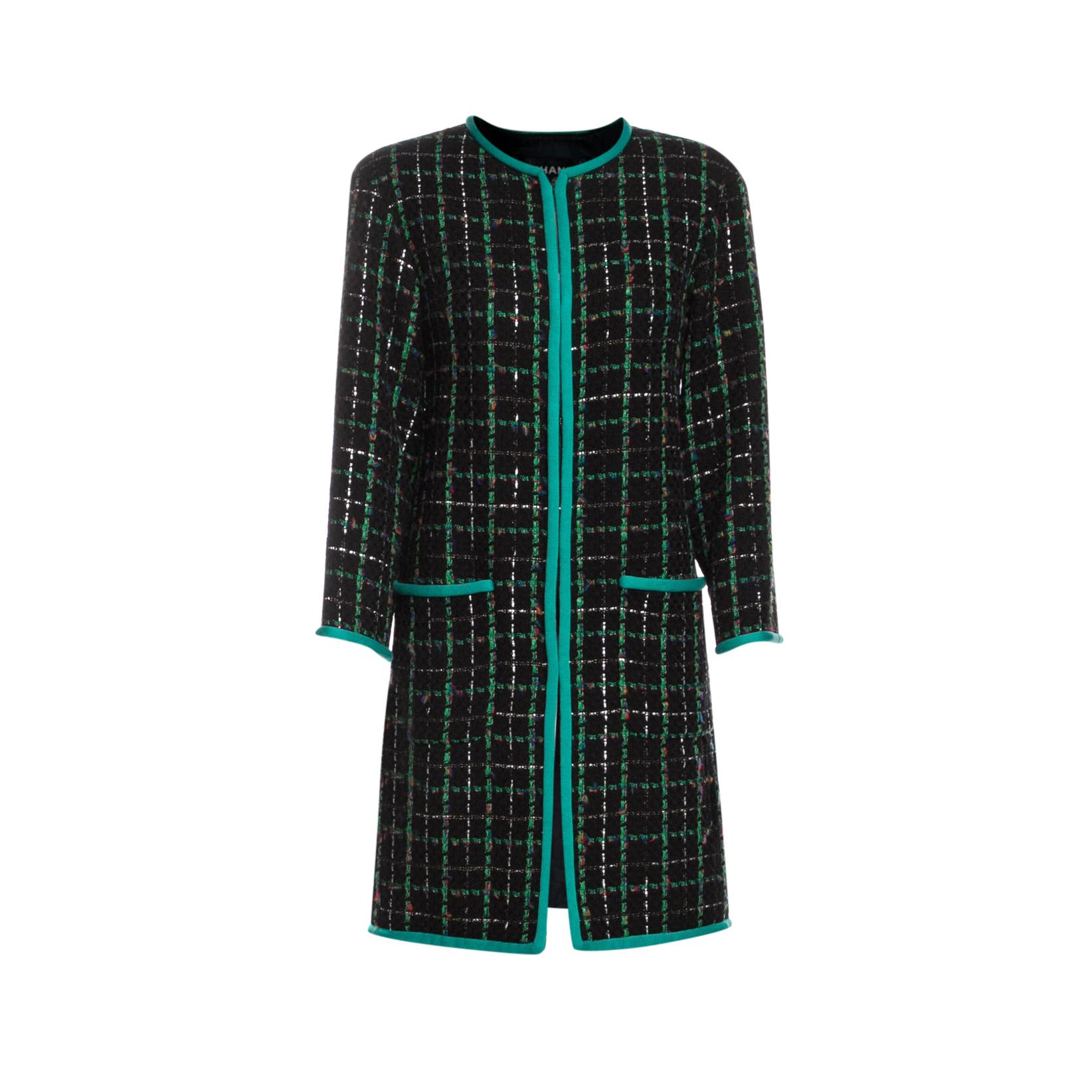 Chanel 2017 Robot Collection Runway Coat