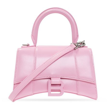 Balenciaga Pale Pink XS Hourglass Top handle Bag