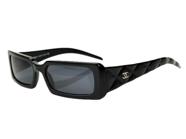 Chanel Black 5046 Quilted Sunglasses