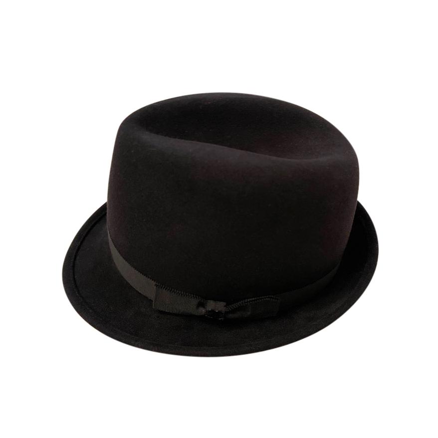 Chanel Black Rabbit Hair & Wiik Blend Hat