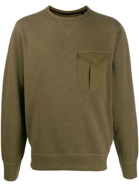 Rag & Bone Airington Khaki Sweatshirt