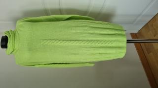 Weekend Max Mara Lime Green Mohair & Wool Jumper Dress