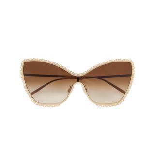 Dolce & Gabbana Filigree Baroque Oversize Sunglasses