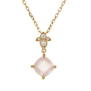 Cartier Inde Mysterieuse Diamond Rose Quartz Necklace