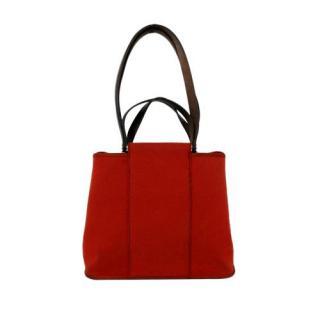 Hermes Cabag Elan Canvas Tote Bag