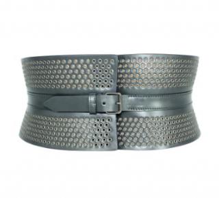 Alaia eyelet embellished corset belt - Size 75
