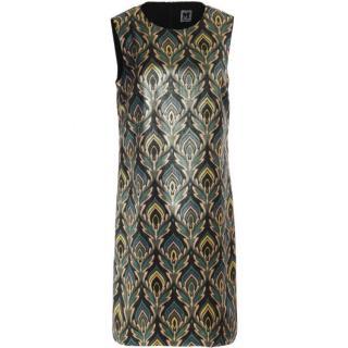 M Missoni Jacquard Sleeveless Shift Dress