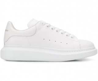 Alexander McQueen White Chunky Sneakers