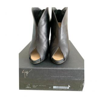 Giuseppe Zanotti Black Heeled Booties